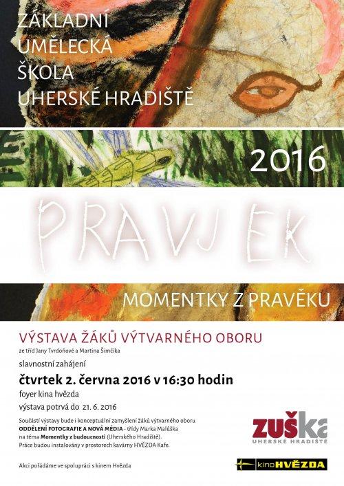 Pozvánka na vernisáž - Pravěk v kině Hvězda