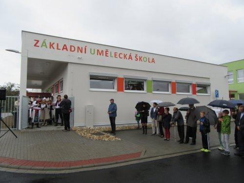 Slavnostní otevření nové budovy ZUŠ ve Starém Městě