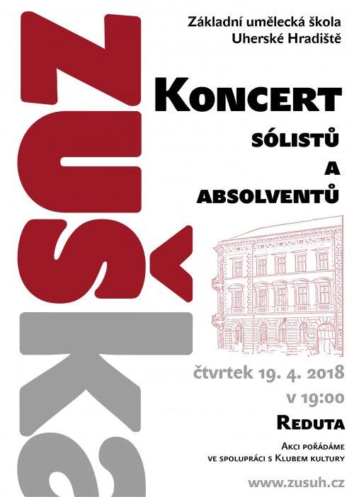 Koncert sólistů a absolventů