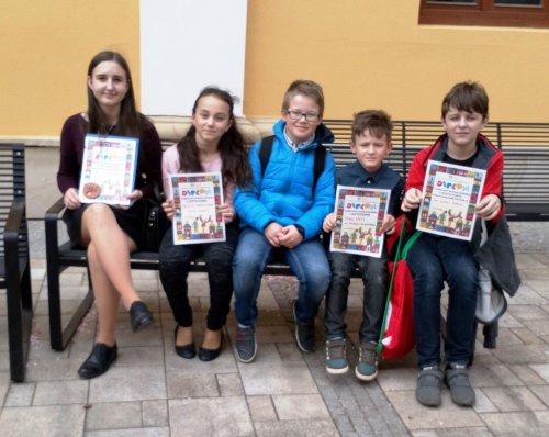 Krajské kolo Dětské scény 2018   Uherské Hradiště 17. dubna 2018