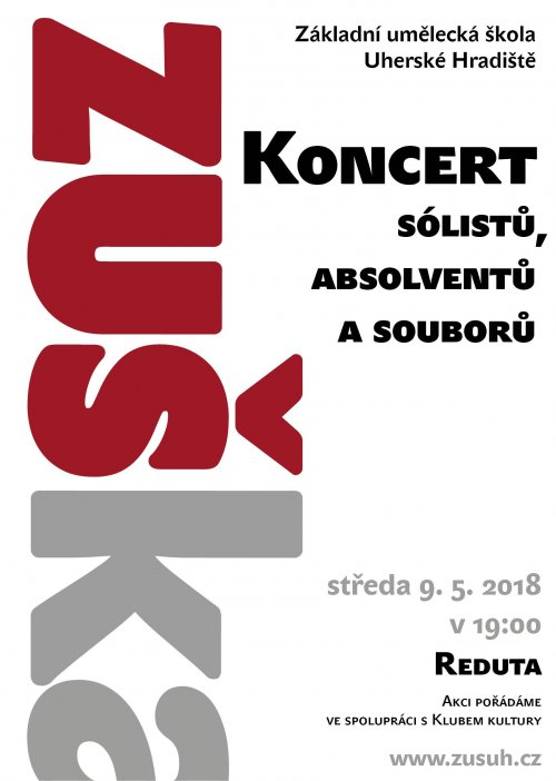Koncert sólistů, absolventů a souborů