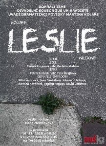 Premiéra hry Kousek Leslie Wildové
