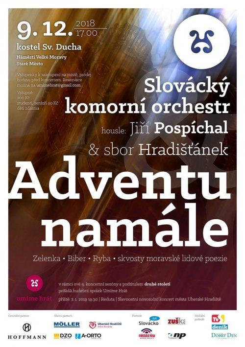 Pozvání na koncert Slováckého komorního orchestru