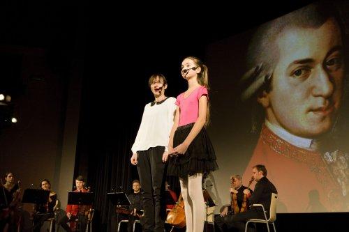 Alenka zavedla diváky do říše hudby