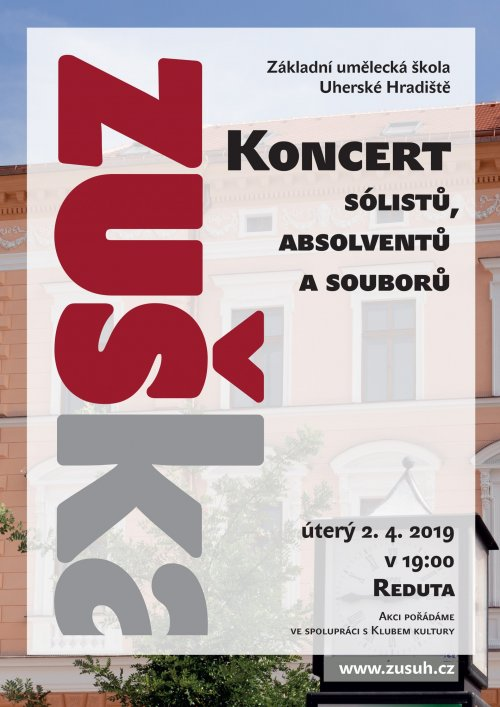 Koncert sólistů, absolventů a souborů | 2. dubna 2019