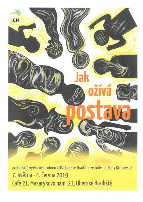 Jak ožívá postava | Cafe 21, masarykovo nám. 21, Uherské Hradiště