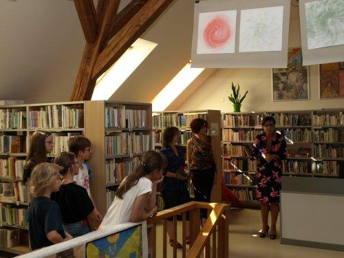 Výstava prací žáků výtvarného oboru | pobočka Kunovice