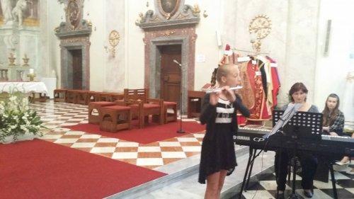 Vystoupení žáků ZUŠ UH při Noci kostelů | 9. června 2017, Farní kostel Sv. Františka Xaverského