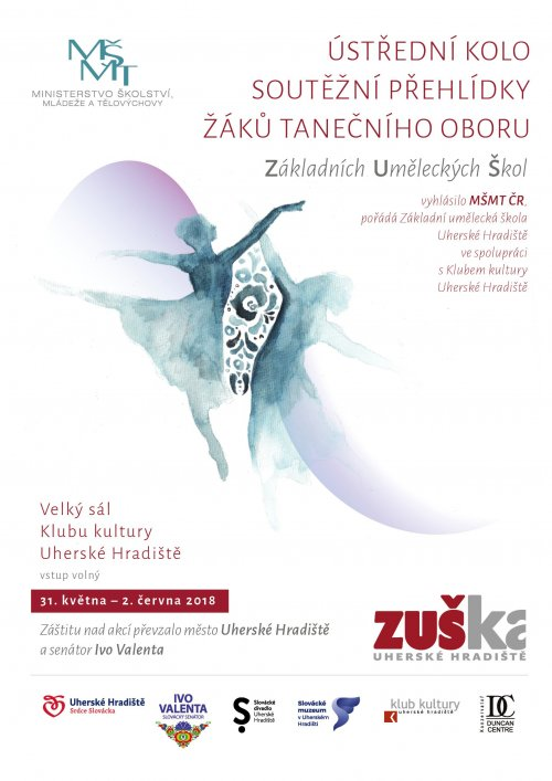 Ústřední kolo soutěže ZUŠ – Taneční obor