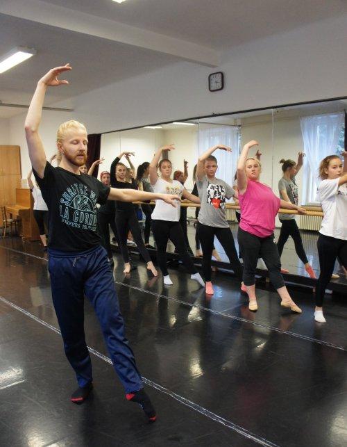 Taneční workshop s Petrem Nedbalem