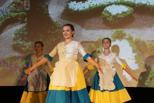 Vystoupení žákyň tanečního oboru v Kině Hvězda