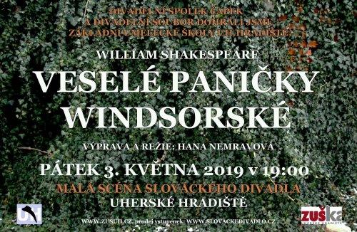 Veselé paničky windsorské   na Malé scéně Slováckého divadla
