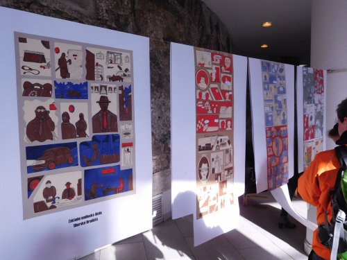 Výstava komiksů