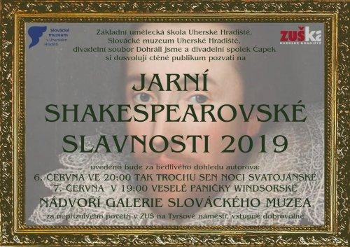 Jarní shakespearovské slavnosti v Uherském Hradišti