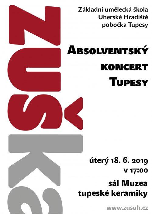 Absolventský koncert | ZUŠ Uh. Hradiště – pobočky Tupesy