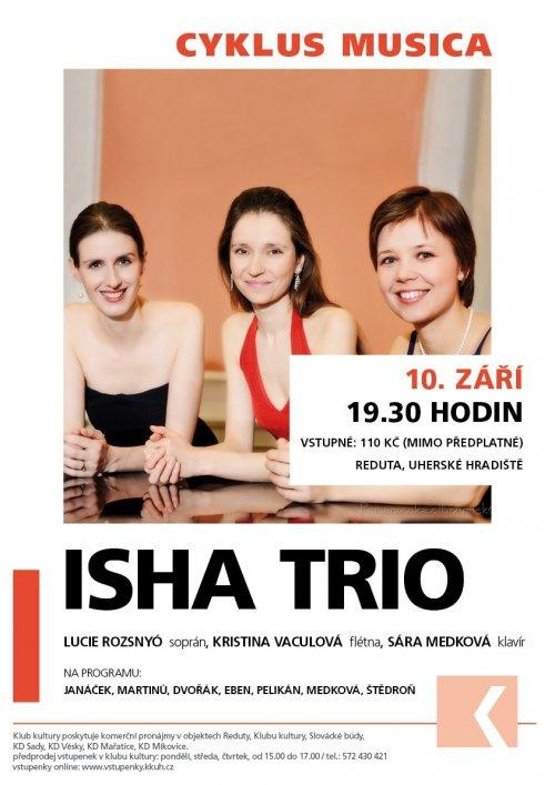 Doporučujeme: | Koncert ISHA trio