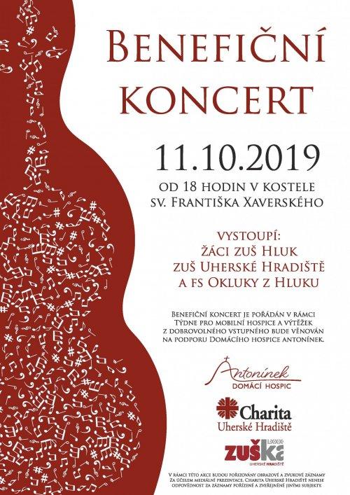 Pozvání na Benefiční koncert