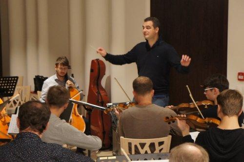 Slovácká filharmonie   se připravuje na koncert v Uherském Hradišti