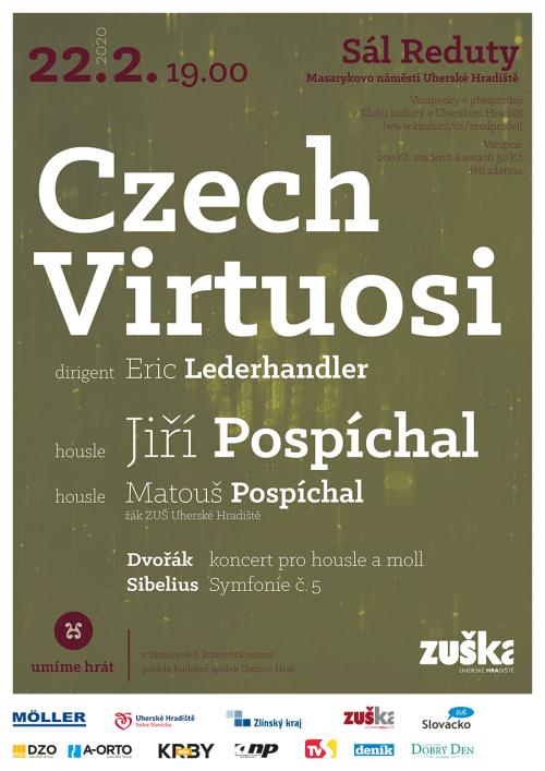 Nenechte si ujít koncert | Czech virtuosi s Jiřím Pospíchalem