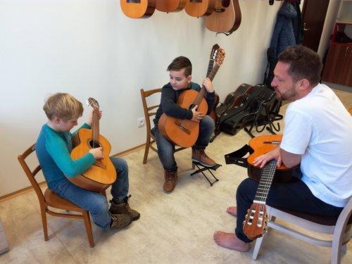 Lekce jazzové kytary   s Liborem Šmoldasem