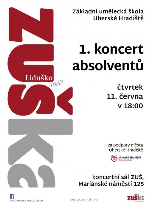 1. koncert absolventů