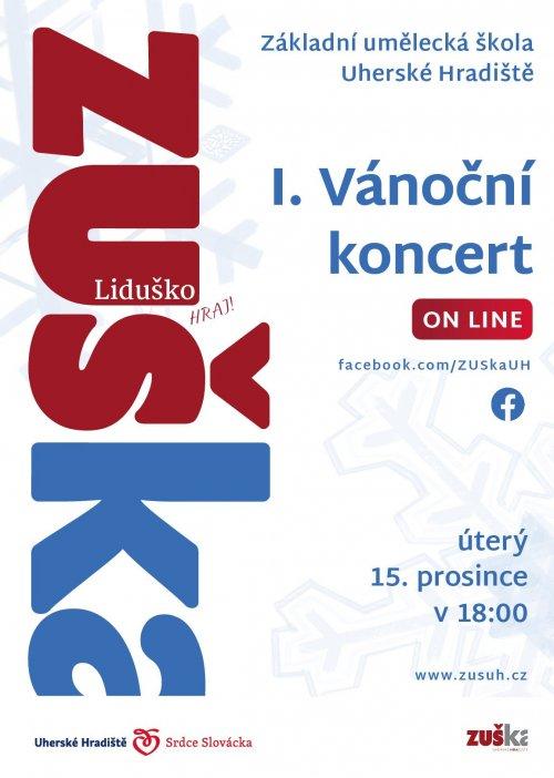 1. vánoční online koncert