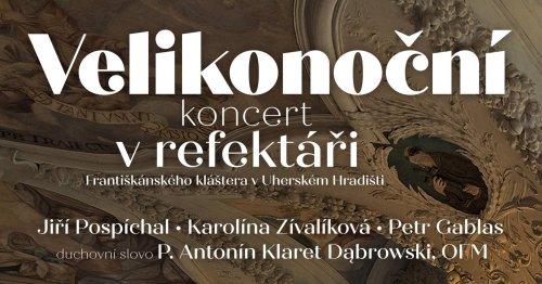 ZUŠka doporučuje: | Velikonoční koncert z refektáře františkánského kláštera