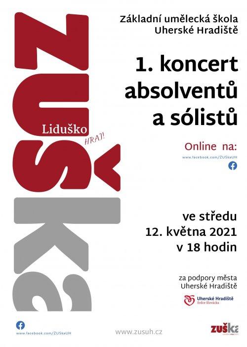 1. koncert absolventů a sólistů