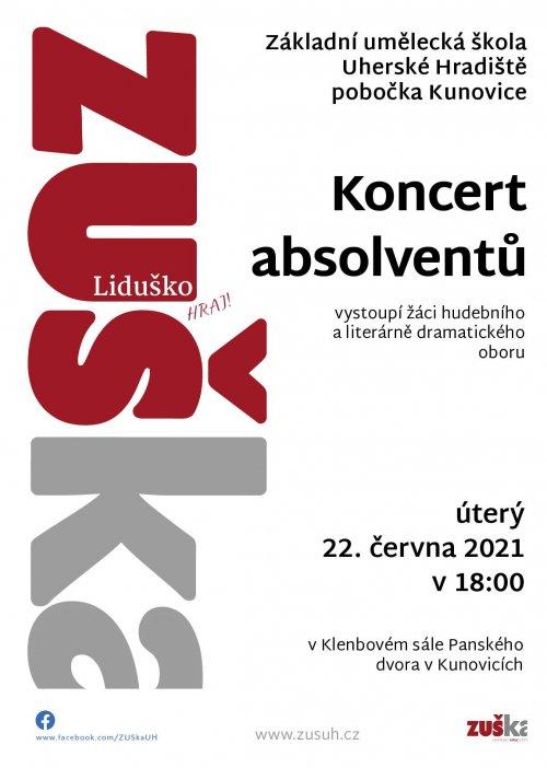 Absolventské koncerty | pobočky Kunovice
