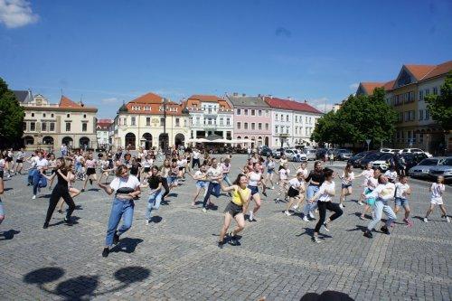 První hradišťský flash mob!