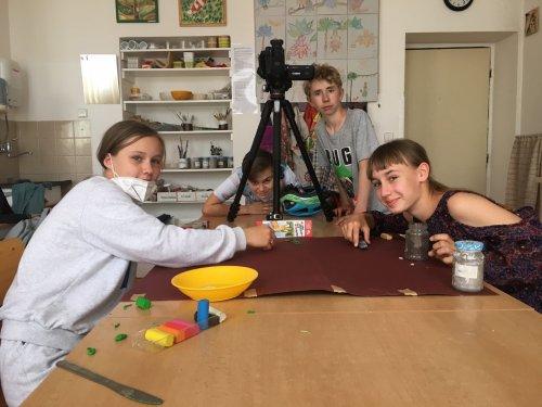 Děti ve filmové tvorbě vytvářely animaci