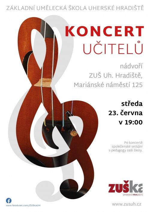 Koncert učitelů   Základní umělecké školy Uh. Hradiště