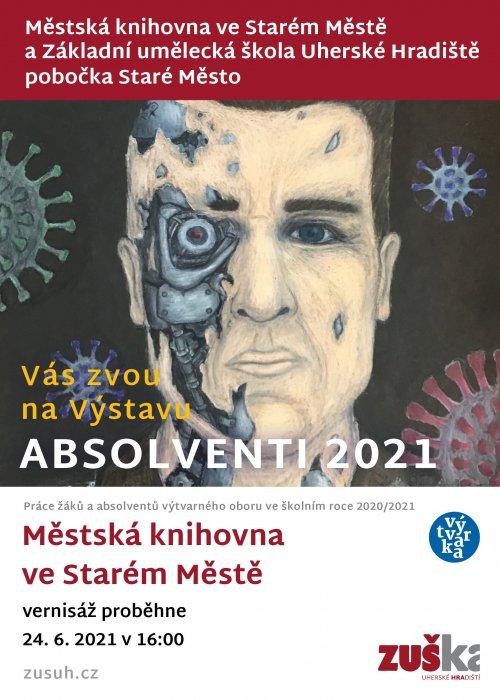 Výstava staroměstské pobočky Absolventi 2021